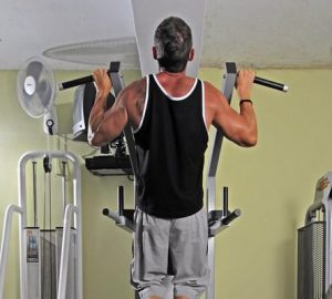 Chin Ups finished position